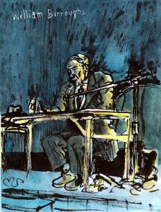William Burroughs color