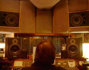 Mixing in the old Polymorph Control room.