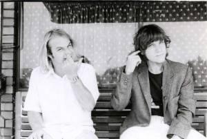 The StiKman finger in ear, Professor Hotweld finger in nose. 1983