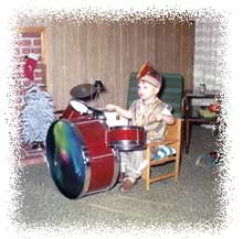 Craig Dukes: Drummer as a (very) young man